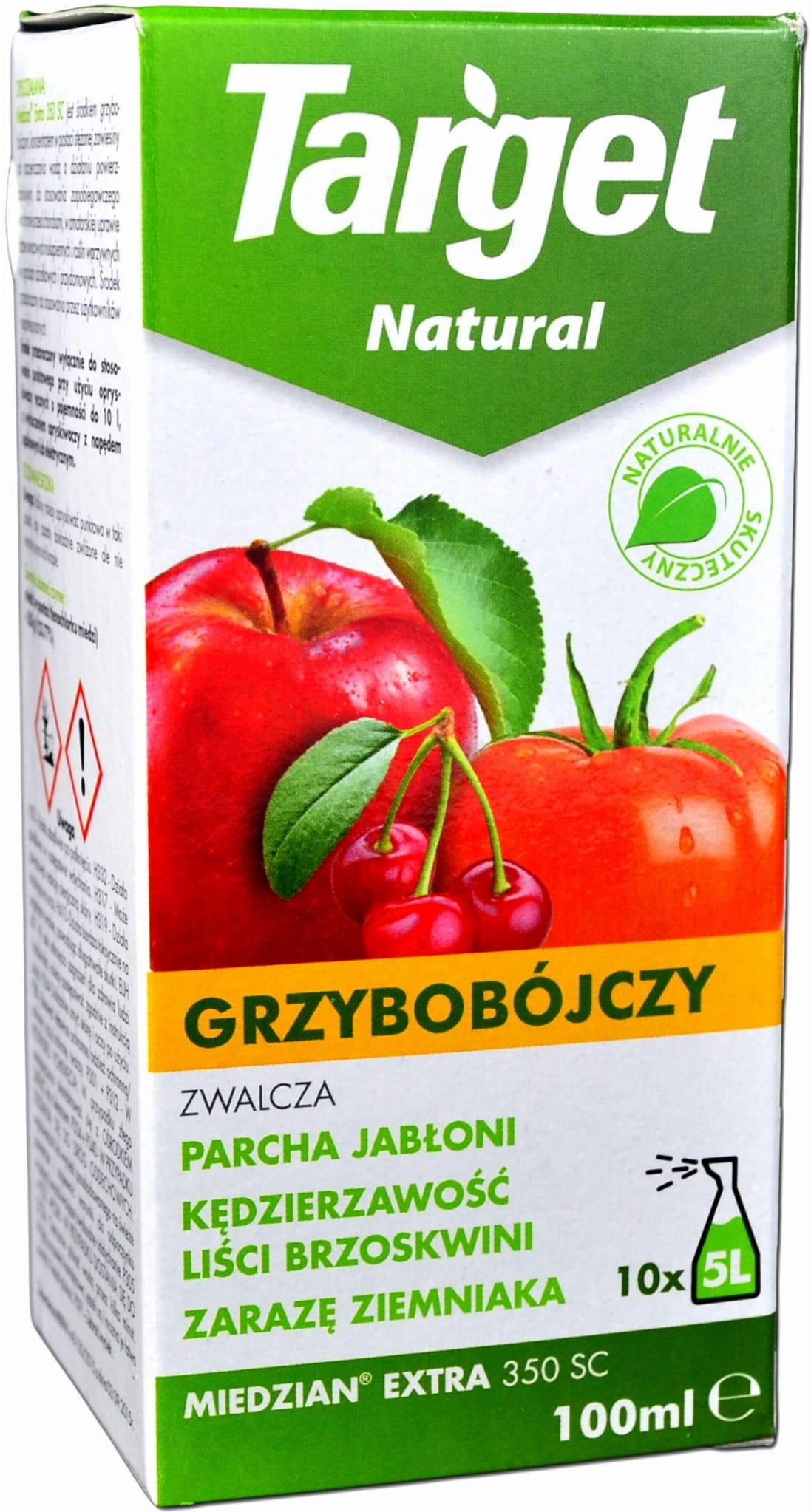 Target Natural Miedzian Extra 350 Sl 100ml Na 50l Semer Sklep Ogrodniczy